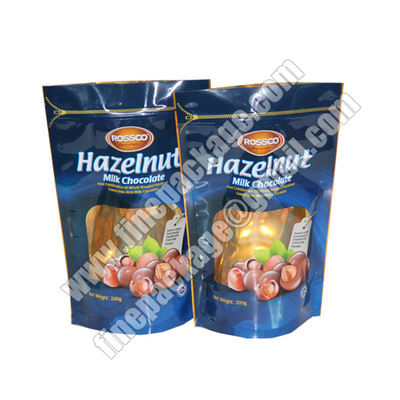 biodegradable resealable stand up pouch, zip lock stand up food pouches, stand up zipper pouch