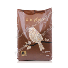 Good Barrier Property Plastic Pet Food Packaging Bag,bird food bags, ziplock clear plastic packaging bags