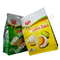 food block bottom pouch, side gusset block bottom bag, plastic BOPP 8 side sealed block bottom pouch