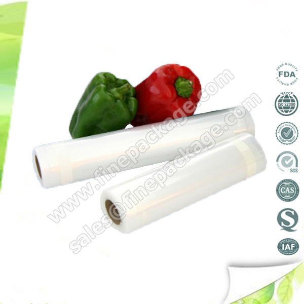 vegetables embossed vacuum plastic film