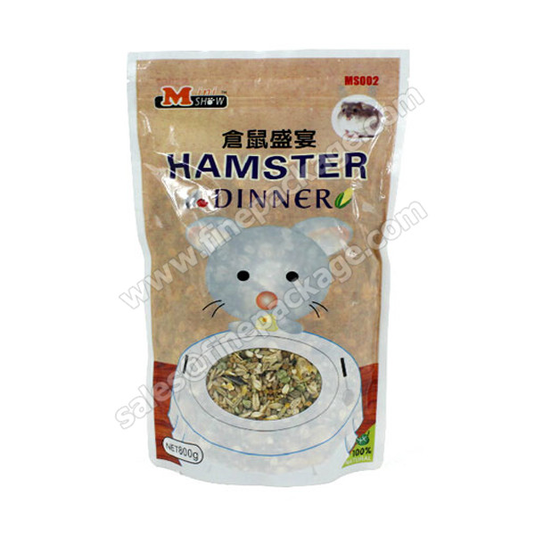 Customed printed plastic pet food bag, cat dog food bag, food packaging bag max 10kg