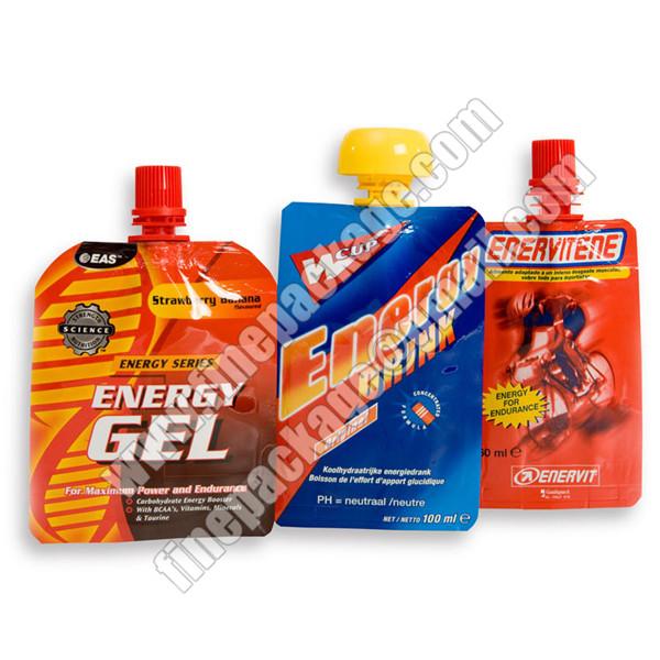 juice packaging bags, juice drink spout pouch bag, liquid packaging plastic bag with spout1