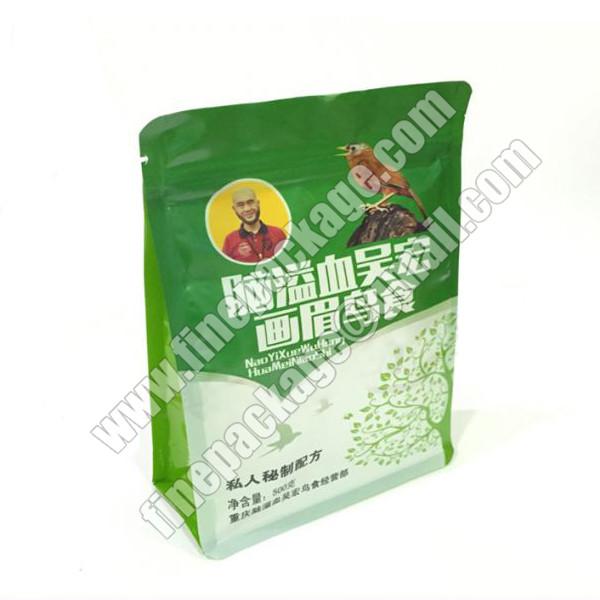8 side seal block bottom plastic pet treats packaging pouch1
