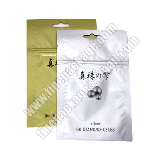 Aluminum Foil Zip Lock Bag Resealable Mylar Ziplock Bags Custom Printed Aluminium Laminated