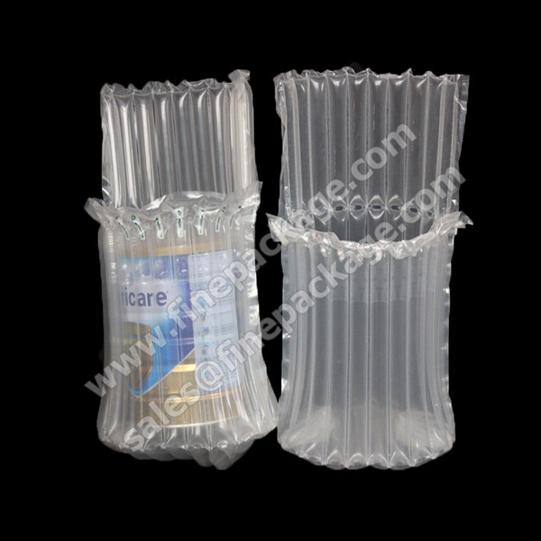 Inflatable milk powder bottle Air Bag, Packaging Protection bag