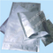 Plain silver High Barrier three side seal vacuum aluminium foil bags