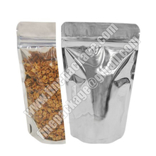 wholesale stand up food bag, custom design nuts stand up foil ziplock bags, custom resealable stand up pouch