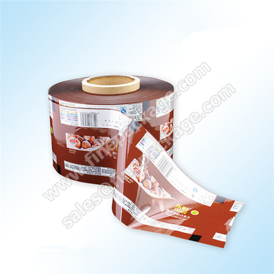 customed potato chips packaging rollstock film