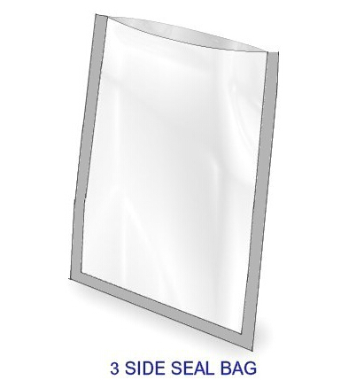 3 side seal bag