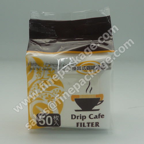 aluminium foil bag coffee bag with valve 26