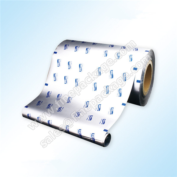 High barrier silver food grade aluminium foil plastic film