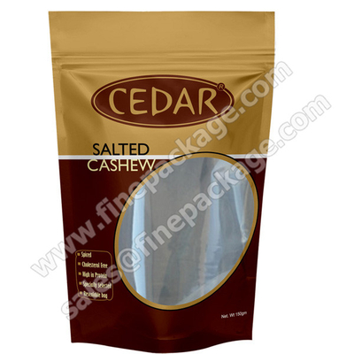 Stand up Dried Fruit & Nut aluminium foil zipper packaging bags